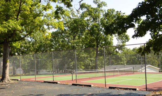 Tennis and Paddle Ball Courts